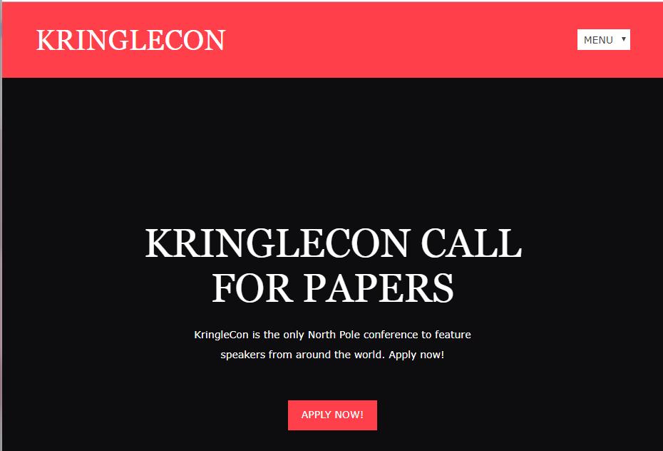 Writeup: KringleCon 2018 | no-sec net